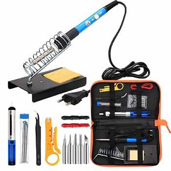 Le meilleur fer à souder électrique en kit : Le kit Fer à souder électrique de ANBES :