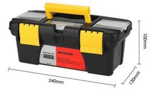 fer à souder électrique Meterk 14 en 1 - Dimension de la caisse à outils pour le fer à souder