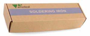 Amzdeal fer à souder électronique Réglable puisance 60W - Boite d'emballage parfaitement protégé