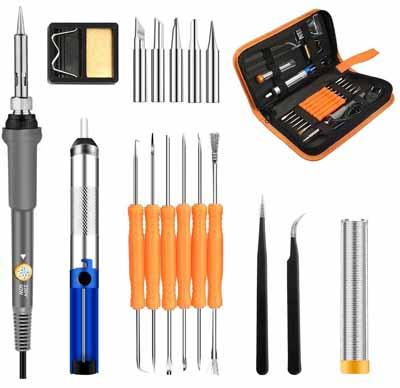 Guide d'achat complet sur le kit de Soudage GOCHANGE 220V Soldering Iron - présentation complète avec les outils